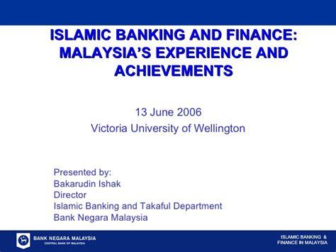 Mba Islamic Banking And Finance Malaysia islamic banking and finance malaysia s experience and