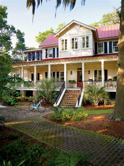 southern living architects vintage lowcountry southern living house plans
