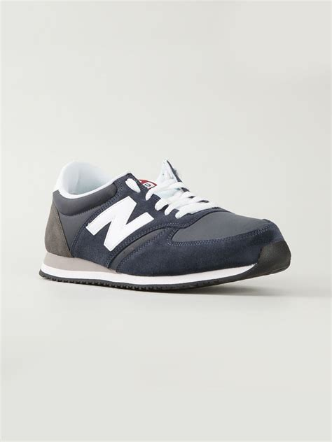 new balance 420 sneakers new balance 70s running 420 sneakers in blue for lyst