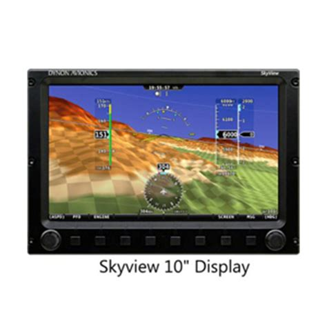 Monitor Lcd Skyview dynon 10 quot skyview touch display sv d1000t b avionics source