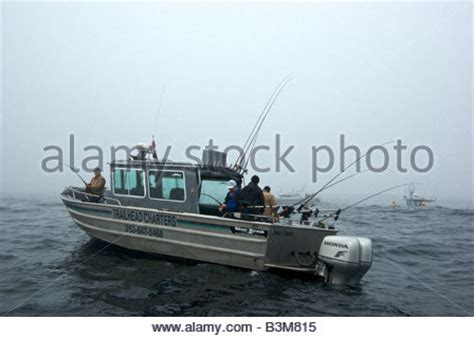 aluminum boats in rough water fishing boat in ocean of rough seas and white water close