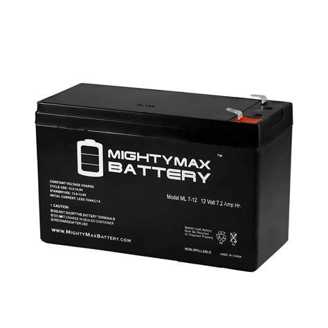 Baterai V Vgen C1 Power Mcom mighty max 12 volt 7 hour alarm battery ebay