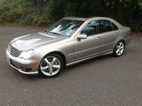 purchase used 2005 mercedes c230 sport kompressor