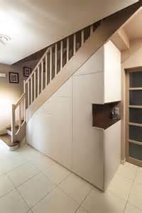 am 233 nagement placard sous escalier pour un rangement en plus