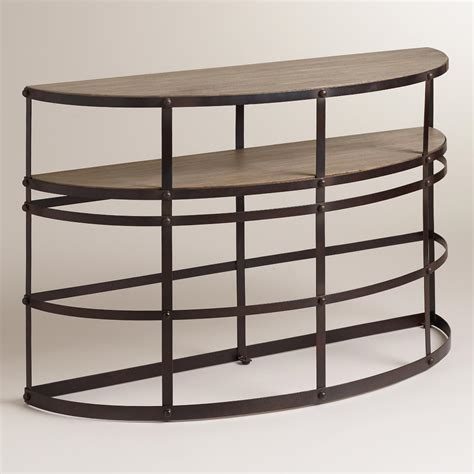world market sofa table worley console table world market
