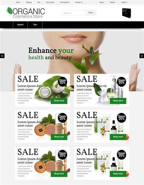Natural Cosmetics X Cart Template 63578 X Cart Templates
