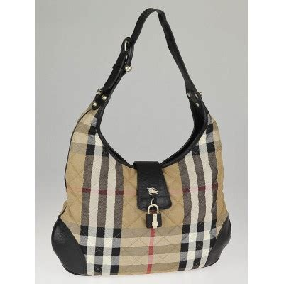 Burberry Check Canvas Hobo Bag Bliss by Burberry Check Quilted Canvas Brook Hobo Bag Yoogi