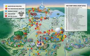 disney world florida map 2012