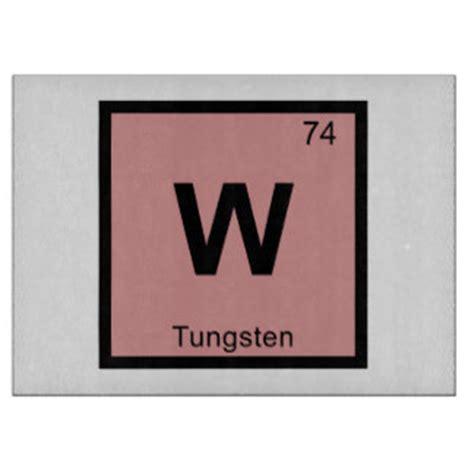 w tungsten chemistry periodic table symbol