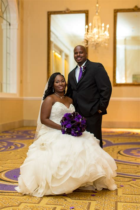 Real Dc Weddings Dc Nearlyweds by Purple Silver Glam Dc Wedding The Coordinated