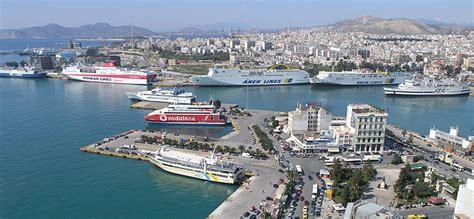 porto della grecia porto pireo grecia