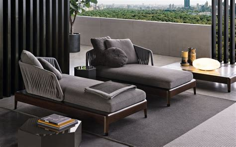 modern italian furniture brands italian furniture brands minotti new project for outdoor
