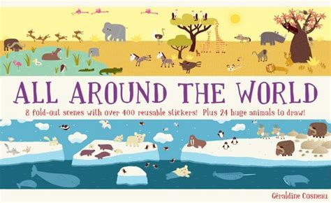 the world books all around the world sticker book babyccino daily