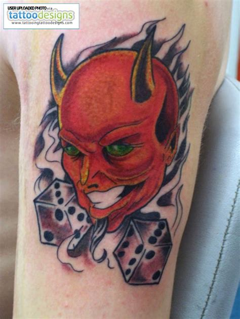 devil design tattoo my designs tattoos