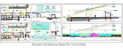 Kitchen Lighting Design Layout Modern Entrance Gate For Township Plan N Design