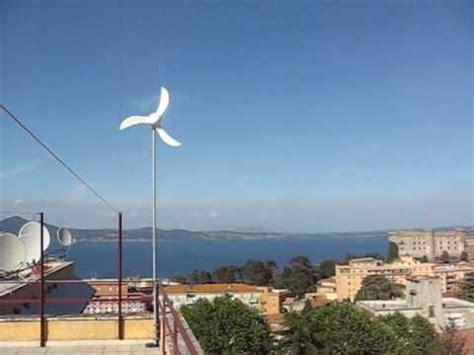mini eolico da terrazzo flip150 microeolico su terrazzo roof mounted small wind