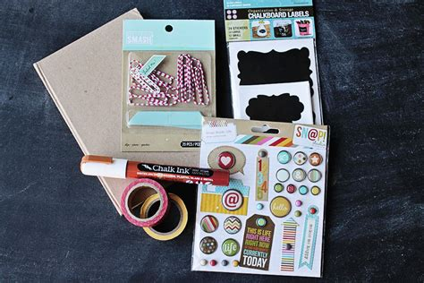 Decorating Ideas For Journals Diy Journal With Paperclip Bookmarks A Gift Idea