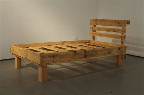 how to make a bed frame diy pallet bed frames for your bed room pallets designs