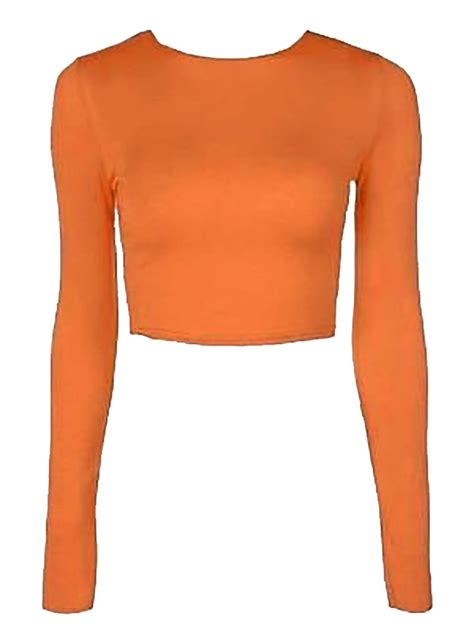 Plain Sleeve Cropped Top plain printed cropped top womens sleeve scoop