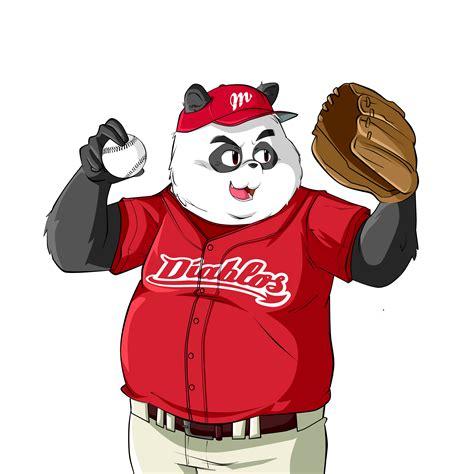 Panda Baseball panda baseball by christianimas on deviantart