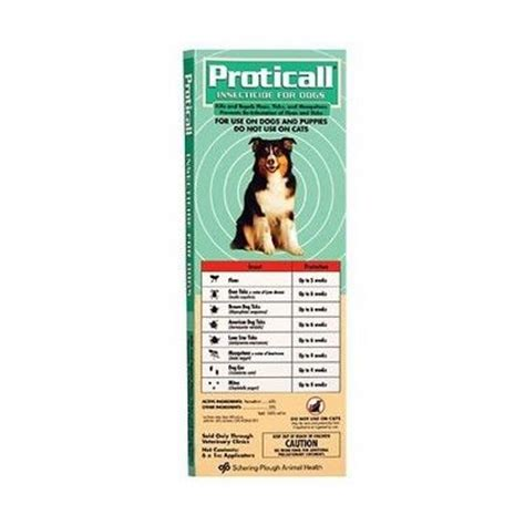permethrin for dogs proticall topical insecticide for dogs vetrxdirect