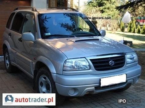 2002 Suzuki Vitara Specs 2002 Suzuki Grand Vitara Car Photo And Specs