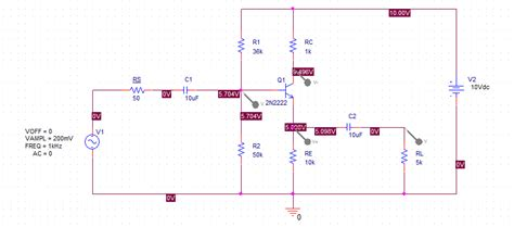 bjt transistor in pspice transistors help with simulating common collector lifier in pspice electrical engineering