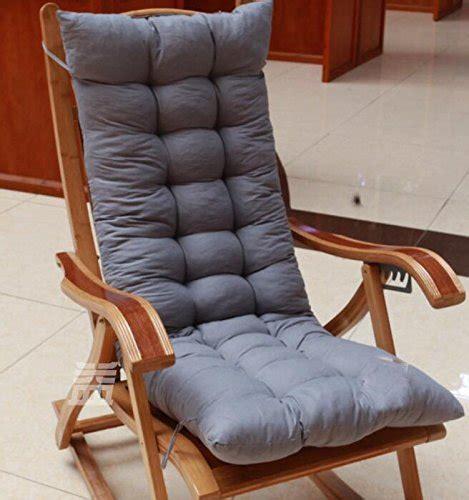 cuscino per sedia a dondolo wyj divano lounge sedia cuscino sedia a dondolo cuscini
