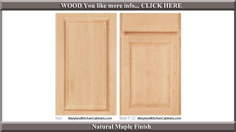 Finishing Cabinet Doors 512 Maple Cabinet Door Styles And Finishes Maryland Kitchen Cabinets Discount Kitchen