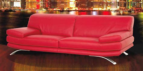 divano rosso pelle divano in pelle divano in tessuto modello bolero