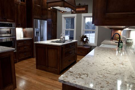black quartz countertops with oak cabinets oak cabinets with dark quartz countertops memsaheb net