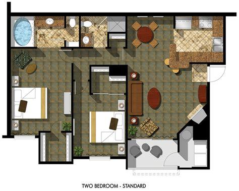 inn club vacations at desert club resort floor plans inn club vacations at desert club resort floor