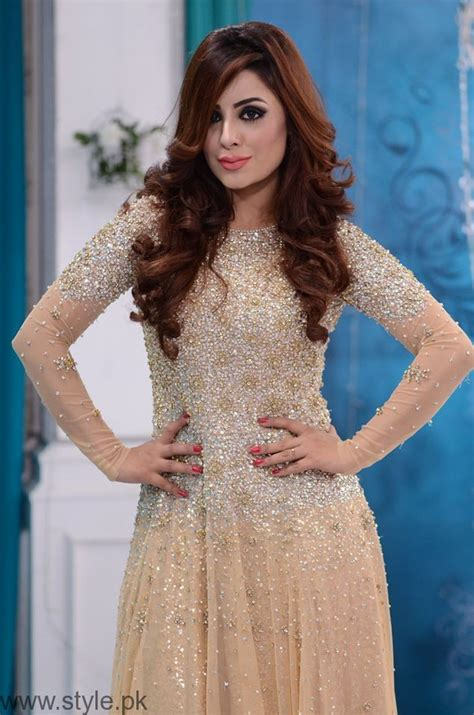 Nida Dress trendy bridal formal dresses in nida yasir show