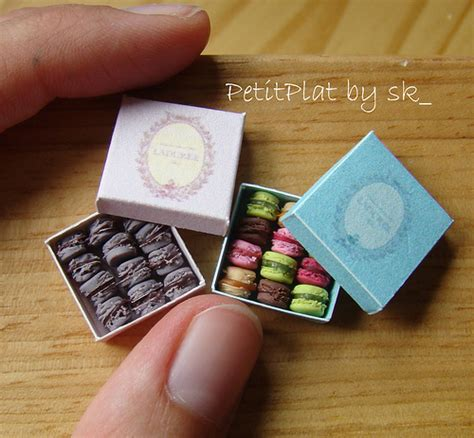 Miniature Paper Craft - macarons ladur 233 e flickr photo