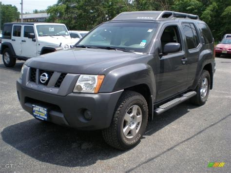 grey nissan xterra 2008 night armor dark gray nissan xterra s 4x4 50230831