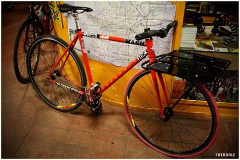 Pizza Bike Rack by Orange 20 And Hern S Custom Fairdale Fairdale Bikes