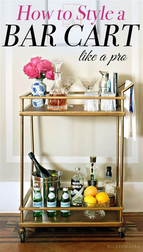 Rolling Dining Room Chairs Best 25 Bar Cart Decor Ideas On Pinterest Bar Cart