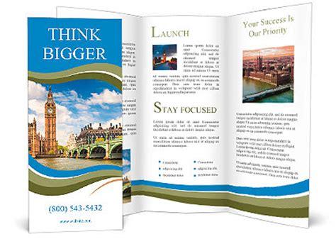 template brochure latex big ben in london brochure template design id 0000010475