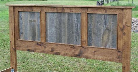 wood panel headboard diy best 25 barn wood headboard ideas on pinterest rustic