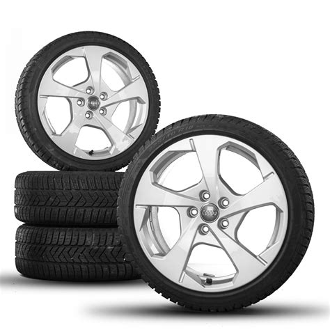 Audi A3 8p Wheel Offset by Audi A3 S3 8v 8p 18 Inch Rims Winter Tyres Winter Wheels S