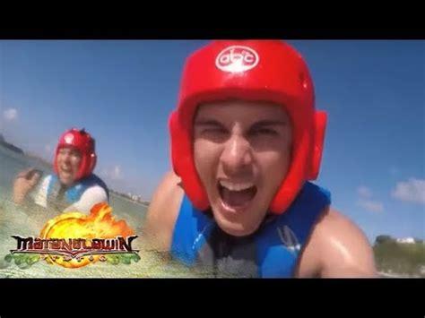 banana boat squad matanglawin vlog squad tries banana boat riding and