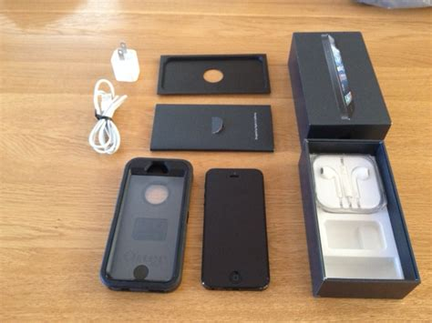 Charger Hp Iphone 5 Original at t iphone 5 w otterbox defender and original box charger