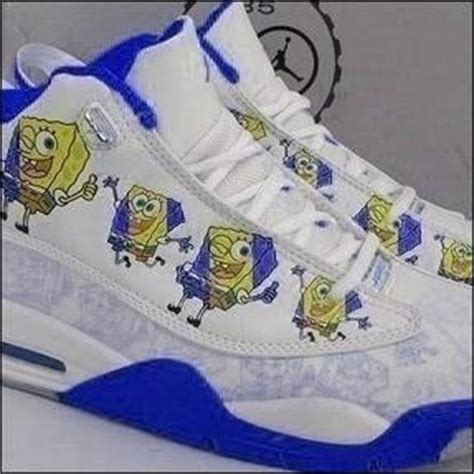 spongebob basketball shoes where can i find spongebob jordans