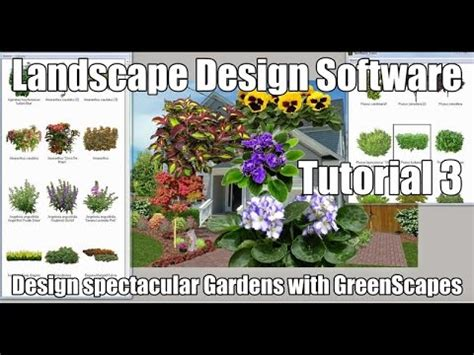 Landscape Design Imaging Software Greenscapes Easy To Use Greenscapes Landscape Imaging Software Adding Plants To