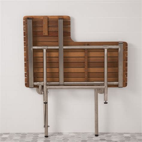 folding teak bench folding teak shower bench the decoras jchansdesigns