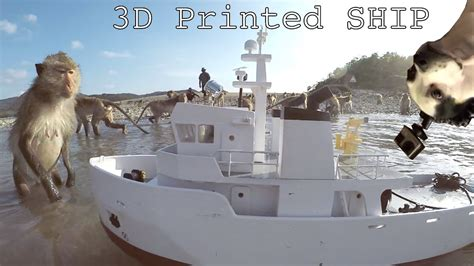 boat pictures for printing giant 3d printed utility ship part 2 youtube