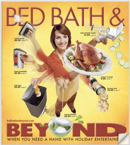 bed bath and beyond ad propaganda invention project information site