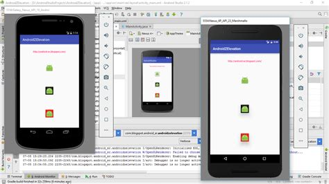 android elevation android er exle of applying android elevation on imageview