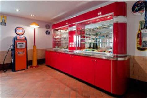 Retro Style Kitchen Cabinets mat s retro garage custom display case 187 bars amp booths