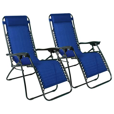 foldable recliner 2pcs folding zero gravity reclining lounge chairs outdoor